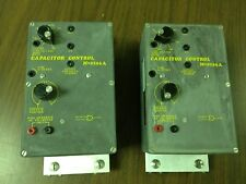 LOT of 2 Beckwith Capacitor Control M-0196A