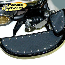 """BLACK 14""""BANANA BOARDS CYCLESMITHS FLOORBOARDS HARLEY TOURING & FL SOFTAIL 80-12"""