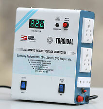 BHASIN PACKARD TOROIDAL AUTOMATIC AC LINE VOLTAGE STABILIZER for LED/LCD