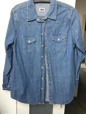 Denim Shirt Asos Size 14 Women's