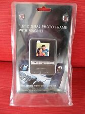 """Office Depot 1.5"""" Digital Photo Frame With Magnet & Desk Top Stand NEW!"""