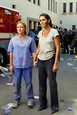 A. Harmon and S. Alexander (Rizzoli and Isles) 8x10 on set working