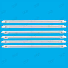 6x 400W Halogen Heater Replacement Tubes 242mm Fire Bar Heater Lamp Element Bulb