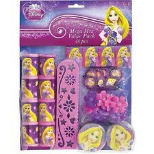 Disney Princess Tangled Birthday Party Mega Mix Value Pack 48 Pieces