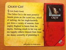 Pirates Rise of the Fiends #056 Calico Cat Pocketmodel CSG NrMint-Mint