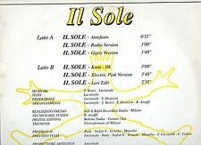 PREFISSO disco MIX 12' 33 giri IL SOLE 6 versioni MAXI SINGLE made in ITALY