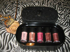MAC Pigment Glitter Objects Of Affection Pink & Rose 5 Piece Gift Set Authentic