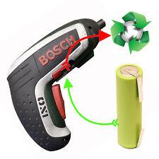 Akkutausch Zellentausch für Bosch IXO 3,7 Volt mit Kapazitätserhöhung auf 2,9 Ah