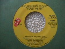 "ROLLING STONES ""START ME UP"" / ""NO USE IN CRYING"" 7"" 45 MINT-"