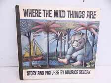 Where The Wild Things Are Maurice Sendak 1st Edition 1963 Rare Childerens Book