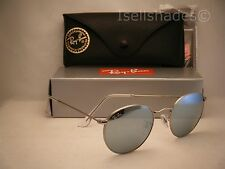 Ray Ban 3447 Matte Silver w Silver Mirror Lens (RB3447 019/30 50mm size)