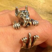 Great Dane Dog Wrap Around Ring