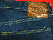 MENS PRPS BRAND JEANS SIZE 40 X 32 MADE IN JAPAN BOOT CUT SELFEDGE SELVAGE