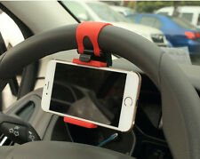 AUTO DECORATIVE ACCESSORIES Clip Car Steering Wheel Bike Handlebar Holder