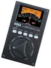 KORG GT-120 Bass Guitar Chromatic Tuner