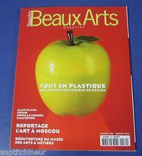 Beaux arts magazine 2000 189 Design plastique L'art à moscou platel malczewski
