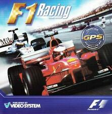 F1 Racing Championship PC CD worlds greatest drivers formula car drive race game