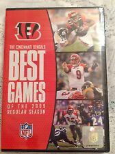 NFL DVD NFL Cincinnati Bengals Best Games of the 2009 Regular Season BRAND NEW