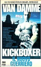 Kickboxer IL NUOVO GUERRIERO (1989) - VHS Fox 1a Ed. Jean-Claude Van Damme