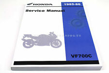 New Genuine Honda Service Repair Manual VF700C V45 Magna Shop Book #N34