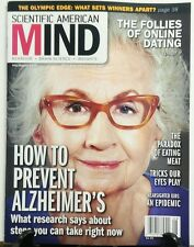 Scientific American Mind July Aug 16 How to Prevent Alzheimer's FREE SHIPPING sb