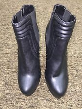 Shoe Cult by Nasty Gal ladies hight heel black platform shoes size 8 /38.5 EU