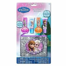 Disney Frozen Nail Polish with Lip Gloss Set Girl Kids Gift