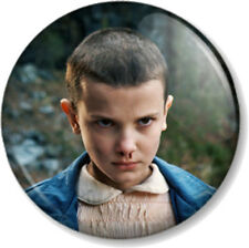 "STRANGER THINGS ELEVEN 1"" 25mm Pin Button Badge Netflix TV show sci-fi 011 1980s"