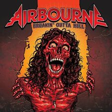 AIRBOURNE Breakin' Outta Hell CD Limited Deluxe Extra Track+Poster NEW .cp