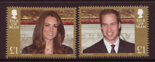 ISLE OF MAN 2011 ROYAL WEDDING UNMOUNTED MINT, MNH IMPRINT 2011