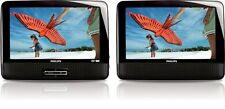 Philips PD9012 37 Portable DVD Player LCD 9 Inch Dual Screen Built In Speakers