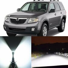 Alla Lighting Headlight H13 White LED Conversion Kits for 2008~11 Mazda Tribute