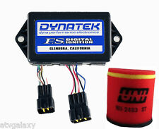 Dynatek FS Ignition CDI Box + Uni Air Filter Intake Suzuki LTZ400 LTZ 400 Z 400