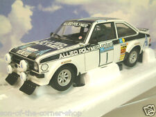 MINICHAMPS 1/18 FORD ESCORT MK2 RS1800 ALLIED POLYMER WINNER 1ST RAC RALLY 1975
