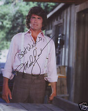 MICHAEL LANDON AUTOGRAPH SIGNED PP PHOTO POSTER