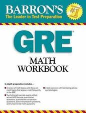GRE Math Workbook by Blair Madore (2009, Paperback)