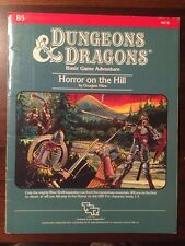 Vintage Dungeons & Dragons Horror On The Hill Module B5 9078