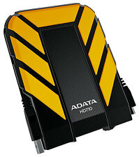 2TB AData DashDrive Durable HD710 USB3.0 Portable Hard Drive (Yellow/Black)