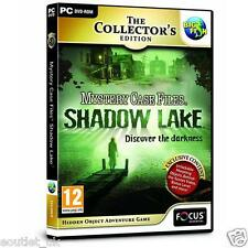 Mystery Case Files: Shadow Lake CE PC Game Hidden Object Adventure Game SEALED