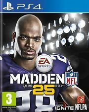 MADDEN NFL 25   --  NEUF -----   pour PS4