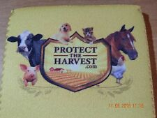 BEER DRINK SODA KOOZIE PROTECT THE HARVEST.COM PIG HORSE DOG CAT COW CHICKEN NEW
