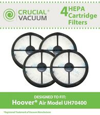 4 Hoover Air Model HEPA Filters Fit WindTunnel Air Model UH70400, # 303902001