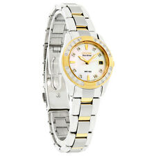 Citizen Eco-Drive Ladies Regent Diamond Mop Dial 2Tone Watch EW1824-57D