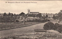 PLUMSTEAD (London) : St Margaret's Church and Plumstead Common-VALENTINE'S