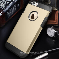 [2015 New Release] iPhone 5 5G 5S Dual Slim Case Hard Soft Cover Armour Shield