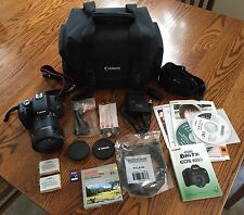 CANON EOS REBEL T3I EOS 600D 18.0 MP DIGITAL SLR CAMERA (18-135MM LENS) W/ BAG