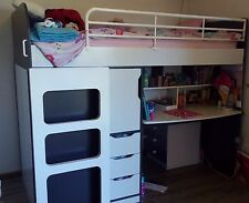 Loft Bed (Single with Desk)