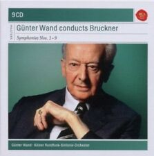 GÜNTER WAND/KRS - GÜNTER WAND CONDUCTS BRUCKNER-SINFONIEN 1-9; 9 CD CLASSIC NEW+