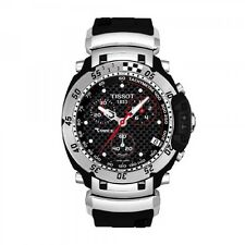 TISSOT T-RACE CHRONOGRAPH DATE RUBBER STRAP MEN'S WATCH T027.417.17.201.06 NEW