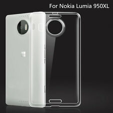 Ultra Slim Soft TPU Gel Silicone Clear Crystal Case Cover For Nokia Lumia 950XL